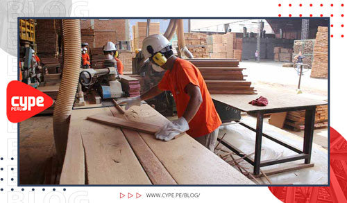 madera para la construccion