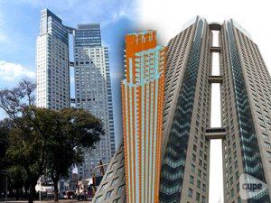 Altura total de 160 m y superficie de 57.190 m². Ubicado en el barrio de Puerto Madero, Buenos Aires, Argentina