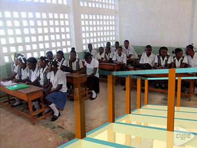 Escuela de Saint Antoine, Cap Rouge, Haiti.