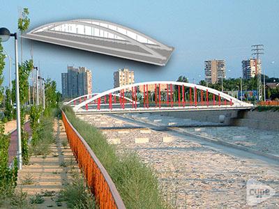 Puente sobre el barranco de Orgegia y Juncaret (Alicante)2