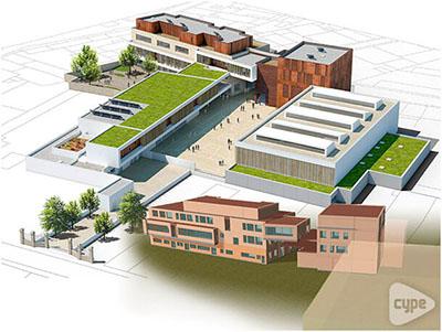 Reconstrucción del Instituto CASSIGNOL, Bordeaux (Francia)