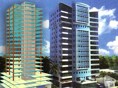 Torre Atlantic. Edificio residencial de 22 niveles. (República Dominicana)
