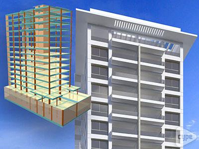 Torre Paseo 14. Edificio residencial de 16 niveles. (República Dominicana)