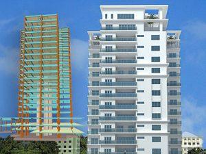 Torre Sarasota. Edificio residencial de 15 niveles. (República Dominicana)