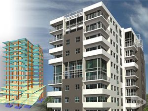 Torre Terraza del Jardín. Edificio residencial de 14 niveles.