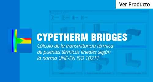 programa CYPETHERM BRIDGES cype peru