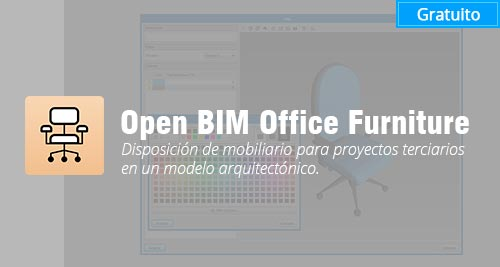 programa Open BIM Office Furniture gratis