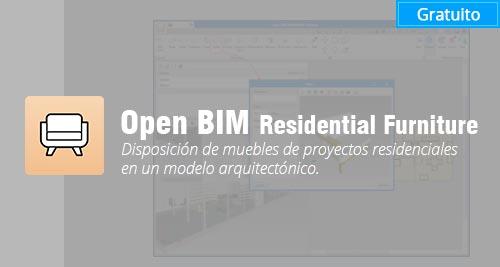 programa Open BIM Residential Furniture gratis