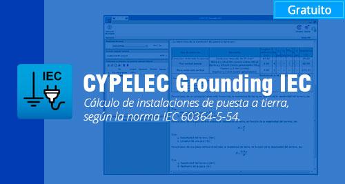 programa CYPELEC Grounding IEC gratis