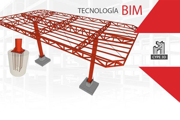 curso de cype 3d diseño estructural de una estacion de autoservicio