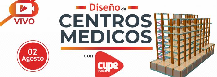 diseño de centros medicos con CypeCAD